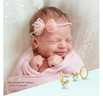 LITTLE MOUSE GOLD - NEWBORN (0,47 gram)