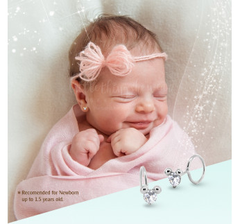 LITTLE MOUSE WHITE GOLD - NEWBORN (0,47 gram)